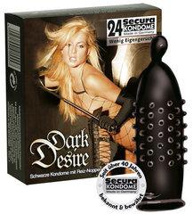 Kondoomid Dark Desire Secura, 24 tk