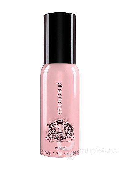 Feromoonidega parfüüm naistele Touché 50 ml roosa