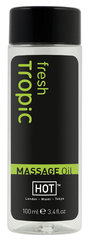 Massaažiõli HOT Fresh Tropic 100 ml