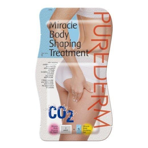 Keha modelleerimisvahend Purederm Miracle Body Shaping Treatment Cool 1tk+6g