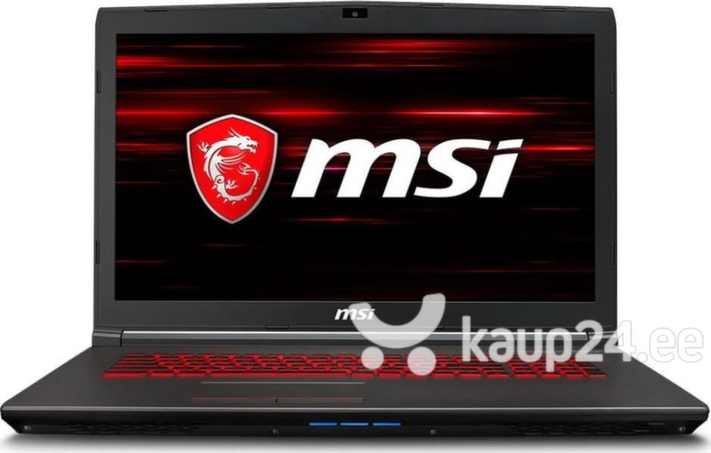 MSI GV72 8RC-045XPL 8 GB RAM/ 512 GB SSD/ Windows 10 Home hind
