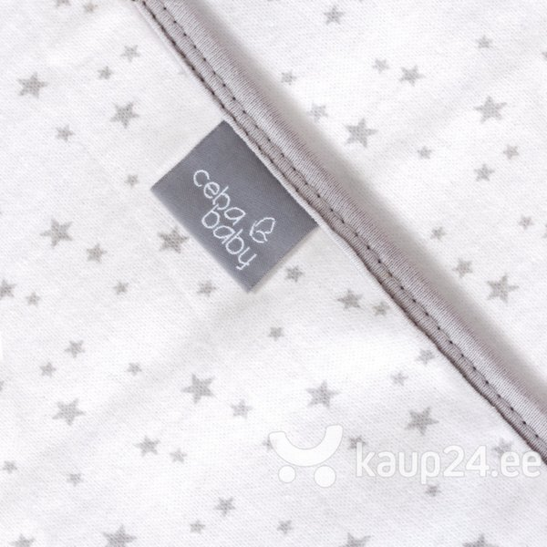 Pleed CebaBaby Jersey 90x100 tähekestega, W-817-083-082-2 hind