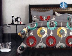 3D voodipesukomplekt, 3 osaline hind ja info | Voodipesukomplektid | kaup24.ee
