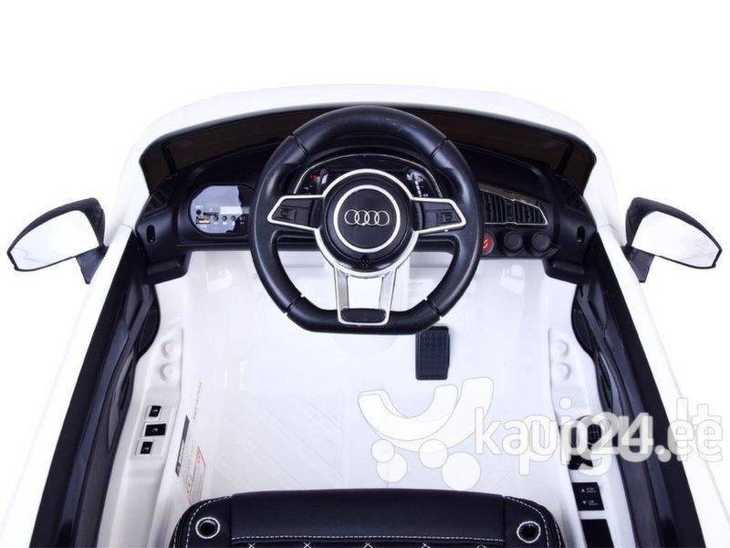 """Laste elektriauto """"AUDI R8 Spyder"""", valge"""