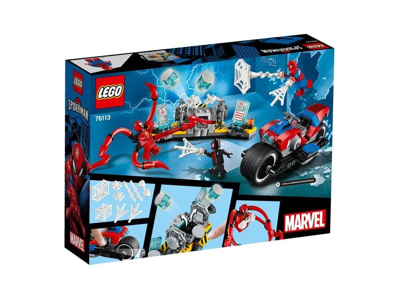 76113 LEGO® Marvel Super Heroes Spider-Man mootorratas hind
