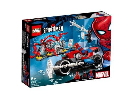 76113 LEGO® Marvel Super Heroes Spider-Man mootorratas hind ja info | Kokkupandavad mänguasjad | kaup24.ee