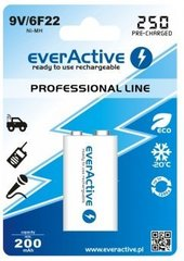 "everActive 9V ""Ready to Use"" patarei"