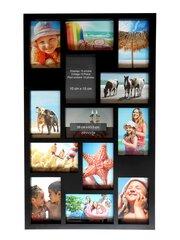 Must foto kollaaž, 13 fotot цена и информация | Pildiraamid | kaup24.ee