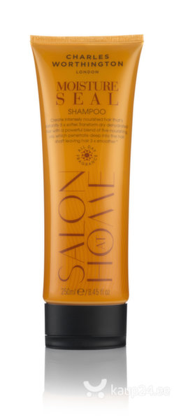 Niisutav šampoon juustele Charles Worthington Salon At Home Moisture Seal 250 ml
