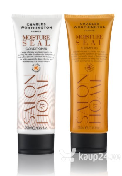 Niisutav šampoon juustele Charles Worthington Salon At Home Moisture Seal 250 ml hind