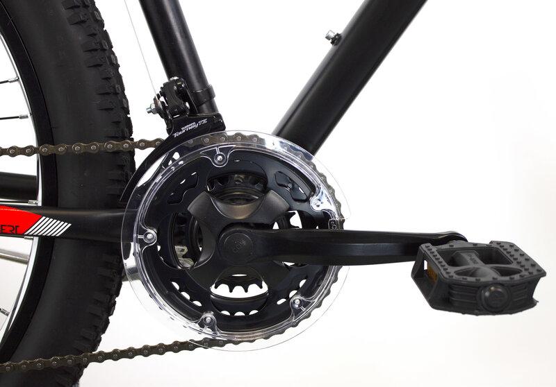 Горный велосипед Good Bike MTB Front 77201NR52, 27.5'' красный/черный
