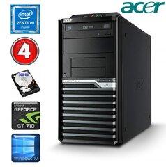 Lauaarvuti Acer Veriton M4620G MT G645 4GB 500GB GT710 2GB DVD WIN10Pro
