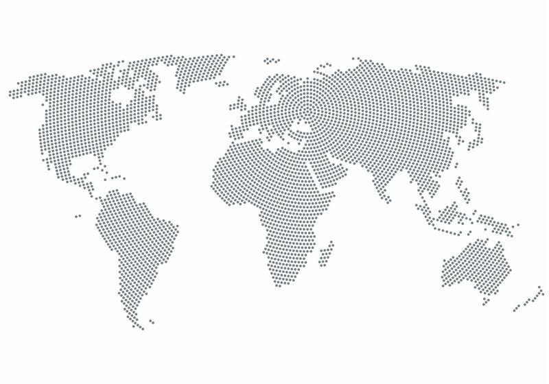 Фотообои - Карта из кругов цена