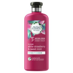 Sügavpuhastav juuksepalsam Herbal Essence Strawberry & Mint, Clean, 360ml