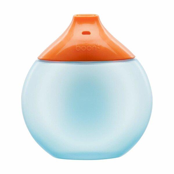 Mittekuluv pudel Boon B11055 300 ml, 9m+, Blue/Orange
