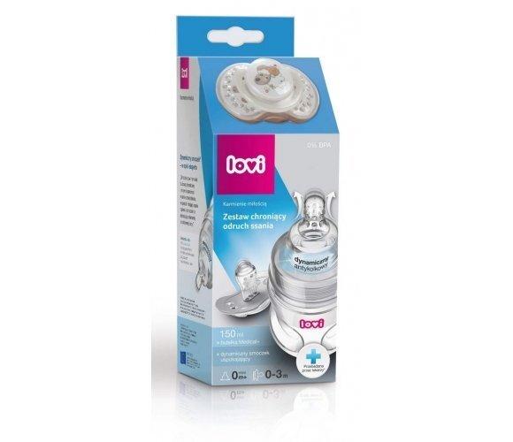 Komplekt Lovi: pudel Medical+ 150 ml + kingitus dünaamiline lutt, 0204