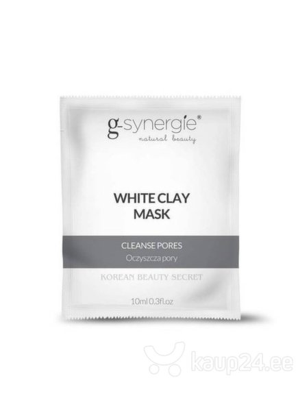e6023fc0d88 Puhastav näomask valge saviga G-Synergie Korean Beauty Secret White Clay  Mask 10 ml