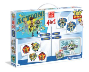Arendavate mängude komplekt 4in1 Clementoni Toy story 4 hind ja info | Arendavate mängude komplekt 4in1 Clementoni Toy story 4 | kaup24.ee