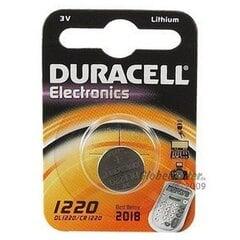 Patareid Duracell CR1220 hind ja info | Patareid Duracell CR1220 | kaup24.ee