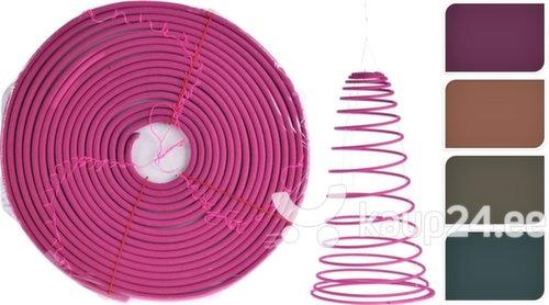 Viiruki spiraal sidrunheina lõhnaga putukate tõrjumiseks, 22 cm