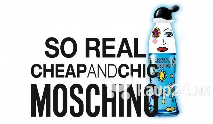 Tualettvesi Moschino Cheap and Chic So Real EDT naistele 100 ml