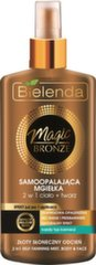 Kuldse tooniga keha- ja juuksesprei Bielenda Magic Bronze 150 ml