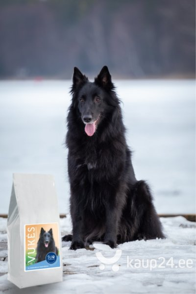 Gurmee kuivtoit koertele, kalkunimaksaga Vukės mėgstamiausias, 6 kg