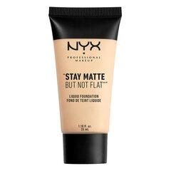 Vedel matistav jumestuskreem NYX Professional Makeup Stay Natte But Not Flat 35 ml, Ivory