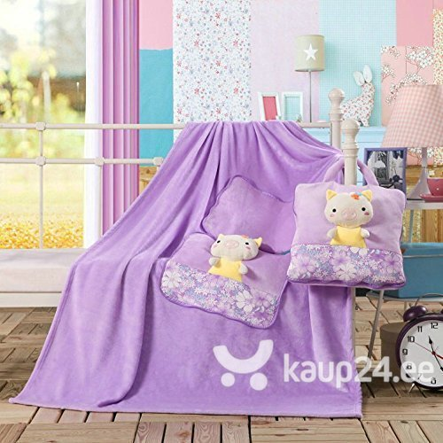 Laste pleed - padi DecoKing Põrsas, 110x160 cm hind ja info | Voodikatted, pleedid | kaup24.ee