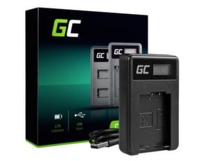 Green Cell Battery Charger DE-A83, DE-A84 for Panasonic DMW-MBM9, Lumix DMC-FZ70, DMC-FZ60, DMC-FZ100, DMC-FZ40, DMC-FZ47 hind ja info | Laadijad fotoaparaatidele | kaup24.ee