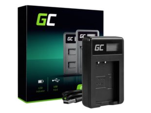 Green Cell Battery Charger LC-E17 for Canon LP-E17, EOS 77D, 750D, 760D, 8000D, M3, M5, M6, Rebel T6i, Rebel T6s, EOS Rebel T7i