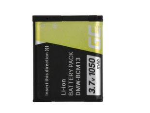 Green Cell® for Panasonic Lumix DMC-FT5 DMC-TS5 DMC-TZ40 DMC-TZ60 DMC-ZS30 DMC-ZS40 DMC-ZS50 3.7V 1050mAh