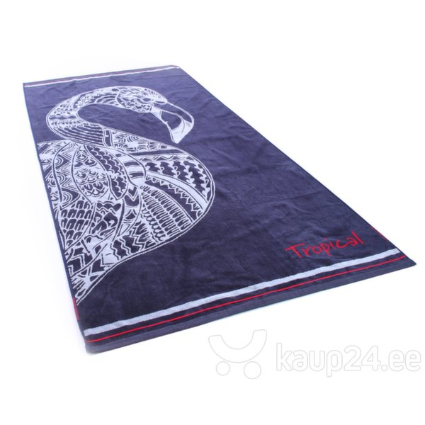 DecoKing rannarätik Navy Flamingo, 90x180 hind