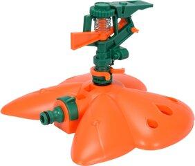 Kastmise vihmuti 1/2'' 6 positsiooniga 45° -360° plastikust pihustiga Flo 89275