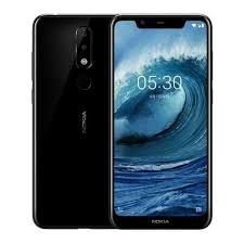 Nokia 5.1 Plus TA-1105, 32 GB Dual SIM, Must