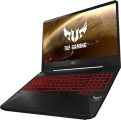Asus TUF Gaming FX505DY-AL016 16 GB RAM/ 256 GB M.2 PCIe/ 1TB HDD/ Windows 10 Home hind ja info | Sülearvutid | kaup24.ee