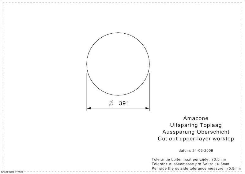 Roostevabast terasest köögivalamu Reginox Amazone osp (L) , Ø 39cm tagasiside