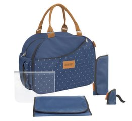 Beebitarvete kott Badabulle Weekend changing bag B043025, Dark Blue