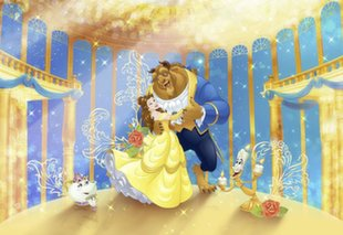 Фотообои Beauty and the Beast