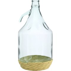 Стеклянная бутылка Dama, 5 Л цена и информация | Посуда и принадлежности для консервирования | kaup24.ee