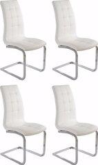 Toolide komplekt Bruno 4 tk, valge hind ja info | Söögilaua toolid, köögitoolid | kaup24.ee