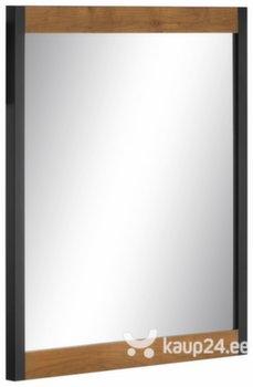 Peegel Herm, pruun/must hind ja info | Vannitoa peeglid | kaup24.ee