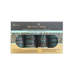 Reisikomplekt Botavikos Energy: šampoon 50 ml + juuksepalsam 50 ml + dušigeel 50 ml + kehaõli 50 ml