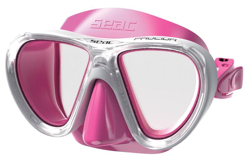 Sukeldumismask lastele Seac Procida, roosa