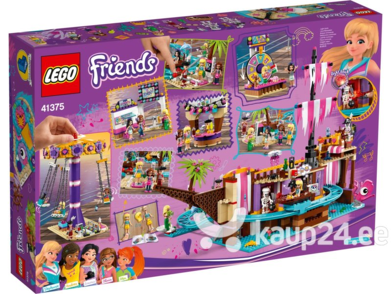 41375 LEGO® Friends Heartlake City lõbustuspargi kai hind