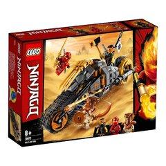 70672 LEGO ® NINJAGO® Cole-i krossiratas hind ja info | Kokkupandavad mänguasjad | kaup24.ee