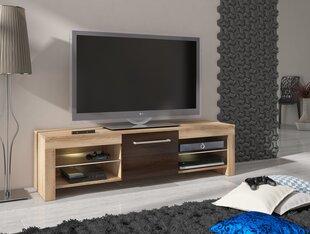 TV laud Flex, tamm/pruun hind ja info | TV alused | kaup24.ee