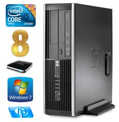 HP 8100 Elite SFF i5-650 8GB 1TB DVD WIN7Pro
