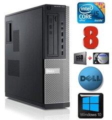DELL 7010 DT i5-3470 8GB 120SSD+500GB DVD WIN10 hind ja info | DELL 7010 DT i5-3470 8GB 120SSD+500GB DVD WIN10 | kaup24.ee