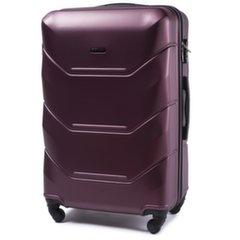 Keskmine kohver Wings Peacock, tumepunane hind ja info | Kohvrid, reisikotid | kaup24.ee